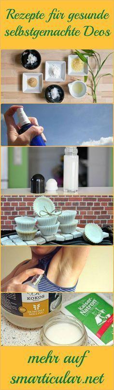 Herkömmliche Deodorants sind stark umstritten! Alternativen ohne Aluminium, Triclosan oder EDT sind meist teuer. Hier die besten Rezepte zum Selbermachen! (Best Shampoo)