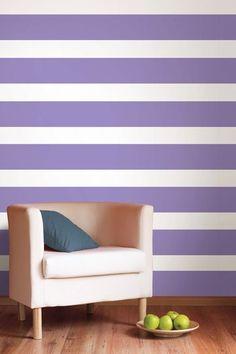 Purple Perk Stripe Wall Decal on HauteLook