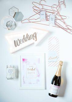 """Ich bin eine """"Und-fertig-ist-die-Braut""""-Box, #BridalSuite #Vorfreude #Wedprep #Hochzeit"""