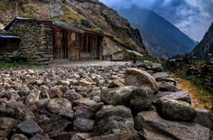 The Helenbu Sherpa village of Rasuwa is literally stone's throw away from the Tibetan border. I spent the day in this village visiting family of my porter Dindup.