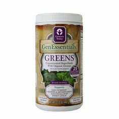 delivers the phytonutrients of 3-5 servings of dark green leafy vegetables in every serving