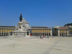 #Lisbon, Comércio Square https://www.facebook.com/FellowTours