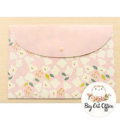 Floral Folders, Plastic Folder, Cute Stationery, Pastel Folder, Floral Material, Filing Folder, Paper Organiser, gift for her