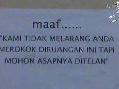 Orang indonesia itu sopan dan humoris. Bangga dan cinta deh sama indonesia♡♥ #PINdonesia #OndeMonday
