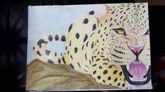 #leopard #eyes #danger #dangerous #cat #paint #painting #art #draw #drawing #zeichnen #animal #leo #fabercastel #wildlife #wild #instaart #beautiful #buntstift