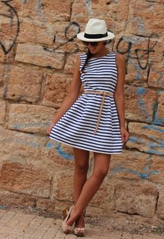 Nautical fun dress