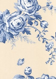 A print taken from the Signature Papers collection Ashfield Floral is a stunning print of hand pressed wallpaper created by Ralph Lauren. If the ocean blue colour is not for you (below), then don&#…