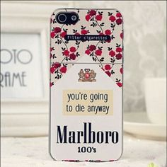 NEW IPHONE 6 CASE NOT UNIF New in package IPHONE 6 CIGARETTE Marlboro CELL PHONE CASE UNIF Accessories