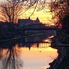 Sonnenuntergang in Temeswar Sunset