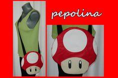 Super Mario Mushroom Bag. $38.99, via Etsy.
