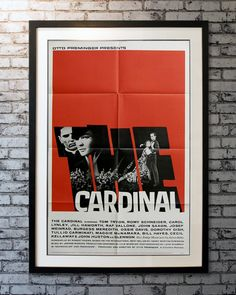 Directed by #OttoPreminger; design by #SaulBass. A #Boston priest deals with illicit love, racism and war as he rises in the church. Dorothy Gish, Carol Lynley, John Saxon, Saul Bass, Romy Schneider, Original Movie Posters, Priest, 1960s, Boston