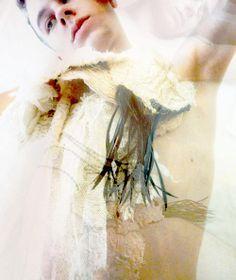 OneOfAKind Necklaces by Maleen Dalan Photography: Kim Minsun  Model: Thomas Muzart Colas