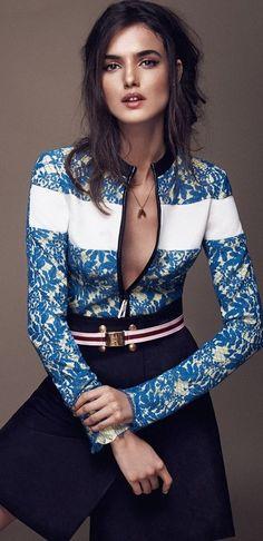 Blanca Padilla by Xavi Gordo for Elle Spain January 2015