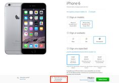 iPhone 6 y iPhone 6 Plus disponibles con envío en un día