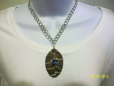 Item 1755-Upcycle Tablespoon Necklace with Bauble Bead. Sells for $12.00. Get a link to my Website ecrater.com at the top of my Page and order with Pay Pal. FREE SHIPPING AND HANDLING