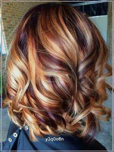 Brown Hair With Blonde Highlights, Hair Color Highlights, Caramel Hair Highlights, Chunky Highlights, Brunette Color, Blonde Color, Blonde Ombre, Brunette Hair, Fall Blonde Hair