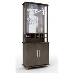 Cristaleira Bar JB 4080 - JB Bechara -2 portas de vidro -2 portas de madeira -Vidros temperados de 4 mm R$529,90  ou 10x de R$52,99 ou R$476,91 no Boleto ou Bankline (10% desconto)