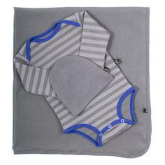 AXL Brand Newborn Gift Set in Cobalt Striped