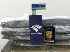 DE OLHO 24HORAS: Jovem é preso com 10kg de droga em mala em aeropor...