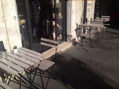 #colazione e #pranzo baciati dal #sole! Accomodati nei tavolini all'aperto di via Cicerone. Al resto pensiamo tutto noi! #buongiorno