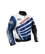HONDA MOTORBIKE JACKET, HONDA MOTORCYCLE LEATHE... - $159.99
