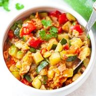 Cukinia   Kwestia Smaku Ratatouille, Potato Salad, Pork, Potatoes, Lunch, Sweet, Ethnic Recipes, Dinners, Kale Stir Fry