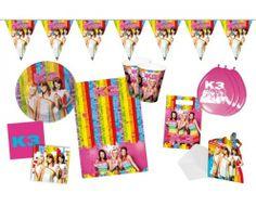thema kinderfeestje k3 feestpakket