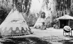 Indian Village, Knott's Berry Farm