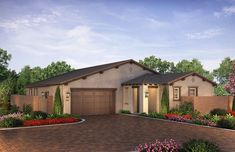 Citron at The Grove in Camarillo, CA by Shea Homes | Residence 3C Exterior Rendering   #sheahomes #sheahomessocal #livethedifference #liveethesheadifference #CitronAtTheGrove #Camarillo #newhomes #venturanewhomes #venturacounty #realestate Sales: Shea Homes Marketing Company (CalDRE #01378646), Construction: SHSC GC, Inc. (CSLB #1012096). Equal Housing Opportunity.
