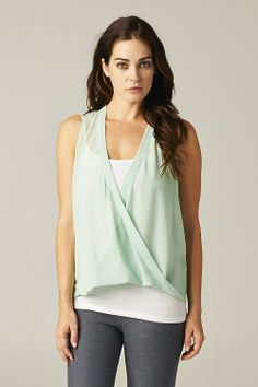 Hope Top in Soft Sage