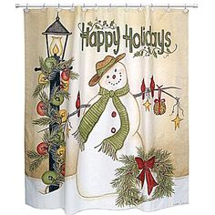 32 Best Christmas Shower Curtain Set Images