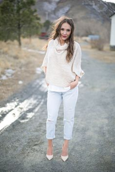 The Collaboration Blog: Closet Staples: Camel Trench Coat  <Sweater, Boyfriend Jeans, Nude Pumps>  #thecollabblog