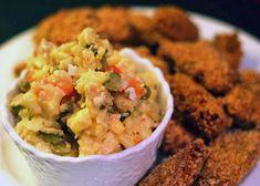 Vánoční bramborový salát | Veganotic Guacamole, Mexican, Ethnic Recipes, Milk, Eggs, Food, Egg, Meals, Yemek
