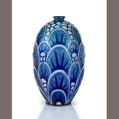 A Camille Fauré for Limoges enameled metal vase Manufactured by Limoges, 1920s