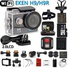 Original Action Camera H9R / H9 Ultra HD 4K WiFi Remote Control Sports Video Camcorder DVR DV go pro Waterproof Camera