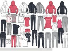 SPORTSWEAR & FITNESS  MEN - WOMEN by Giuseppe Zagonia at Coroflot.com