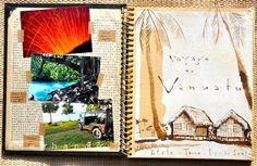Stéphanie Ledoux - Carnets de voyage: Carnet de voyage au Vanuatu
