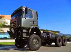 Army Vehicles, Armored Vehicles, Volvo Trucks, Pickup Trucks, Cool Trucks, Big Trucks, Cummins, Giant Truck, Volkswagen