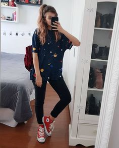 With these new and stylish outfits, your style will definitely be improved and everyone will be amazed by your look! Here are 30 back to school outfits! Back School Outfits, Outfits For Teens, Fall Outfits, Summer Outfits, Fashion Outfits, Hipster Outfits For Women, Womens Fashion, Jeans Fashion, Grunge Outfits