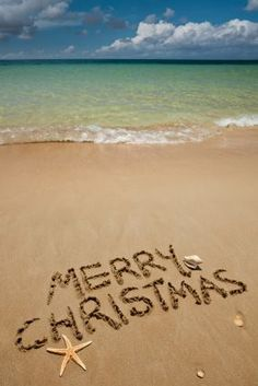 Merry Christmas from the beach!