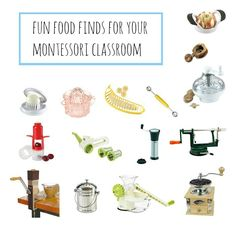 Fun Food Finds For Your Montessori Classroom