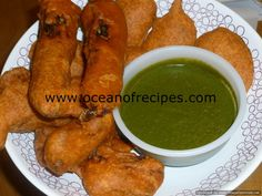 Ocean of Recipes Indian Snacks, Indian Food Recipes, Ethnic Recipes, Ramadan Recipes, Sweets Recipes, Gobi 65, Papdi Chaat, Vegetarian Starters, Red Curry Chicken