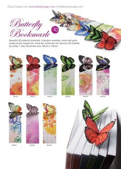 Butterfly Bookmarks Mike Holland, Close Up Photography, Bookmarks, Butterfly, Bowties, Book Markers, Caterpillar, Butterflies