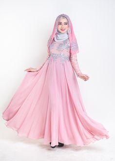 Trend Baju Muslim Pengantin 2017