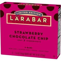 Mama Be Frugal: FREE LARABAR Fruit and Nut Bars (BzzAgent)