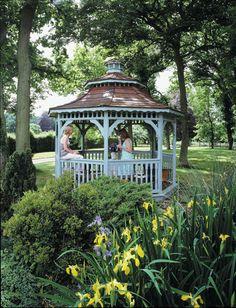 Gazebo Kits: we love the idea of playing around with the kids or relaxing with a book and a cocktail in one of these on a Sunny afternoon!