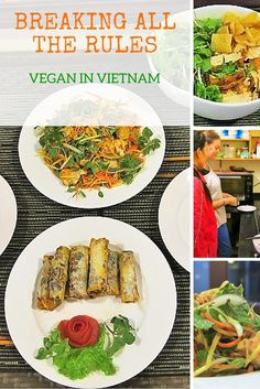 Breaking All the Rules: Vegan in Vietnam - My article about taking a vegan cooking class in Vietnam. #vegantravel