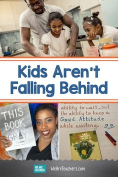 Kids Aren't Falling Behind. Kids aren't falling behind, they're learning different things that will make them stronger, more flexible, and more able to solve problems. #learningathome #teaching #education #educationnews #supportingstudents #teacherlife #socialemotionallearning Social Emotional Learning, Social Skills, Skills To Learn, Life Skills, Increase Knowledge, Experiential Learning, Changing Jobs, Good Attitude, Going Back To School