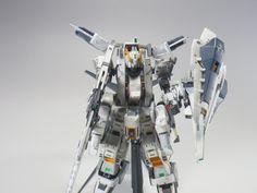 """ガンダムTR-1[ヘイズル・ラー]第二形態ブースター装備""""クルーザーモード"""" サブ画像4"""