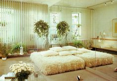 Bohemian Bedroom Decor and Bed Design Ideas Bohemian Bedroom D … 80s Interior Design, 1980s Interior, Home Interior, Interior And Exterior, 70s Decor, Retro Home Decor, Art Deco, 1980s Bedroom, Vintage Interiors